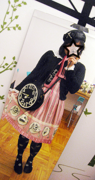 Shirley Temple:  * Hat;  * Cardigan;  * Dress;  From daily-lolita, user: tsu