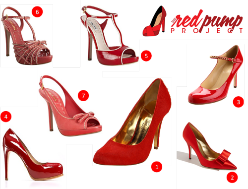 mustluvvshoes:  The good folks over at @ShopItToMe are having a sale on red pumps for the next 2 days because of my nonprofit organization The Red Pump Project. Don't own a pair of fierce red shoes yet? Get some now! (via Rock the Red Pump | Shop It To Me Blog)  My favorite red shoe: 4. Pour la Victoire red patent leather 'Irene' hidden platform pumps: $150, reg $250