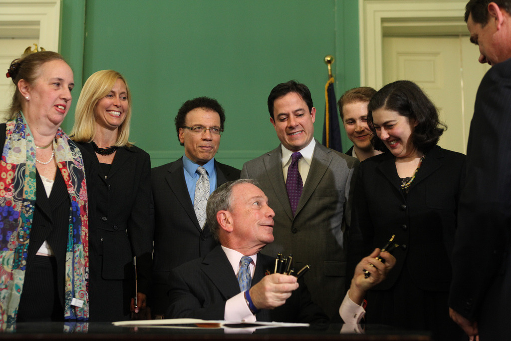 "Yesterday, Mayor Bloomberg signed into law what he termed ""the most ambitious and comprehensive open data legislation in the country.""The Mayor remarked:""If we're going to continue leading the country in innovation and transparency, we're going to have to make sure that all New Yorkers have access to the data that drives our City. Across City government, agencies use data to develop policy, implement programs, and track performance — and each month, our Administration shares more and more of this data with the public at large, catalyzing the creativity, intellect, and enterprising spirit of computer programmers to build tools that help us all improve our lives."" Read more on NYC.gov"