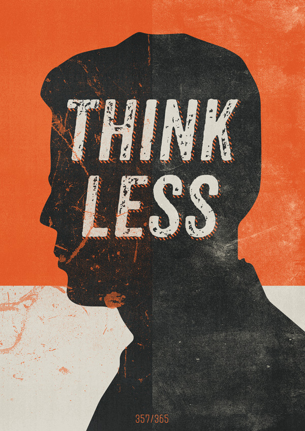 Think less by Hannes Beer