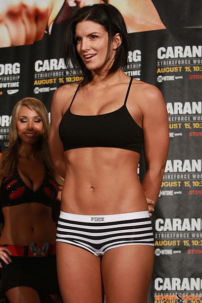 everydayyathletes:  Gina Carano, MMA Fighter
