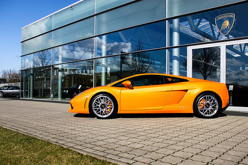 Bull on fire Starring: Lamborghini Gallardo (by Tom Wolf | Photography)