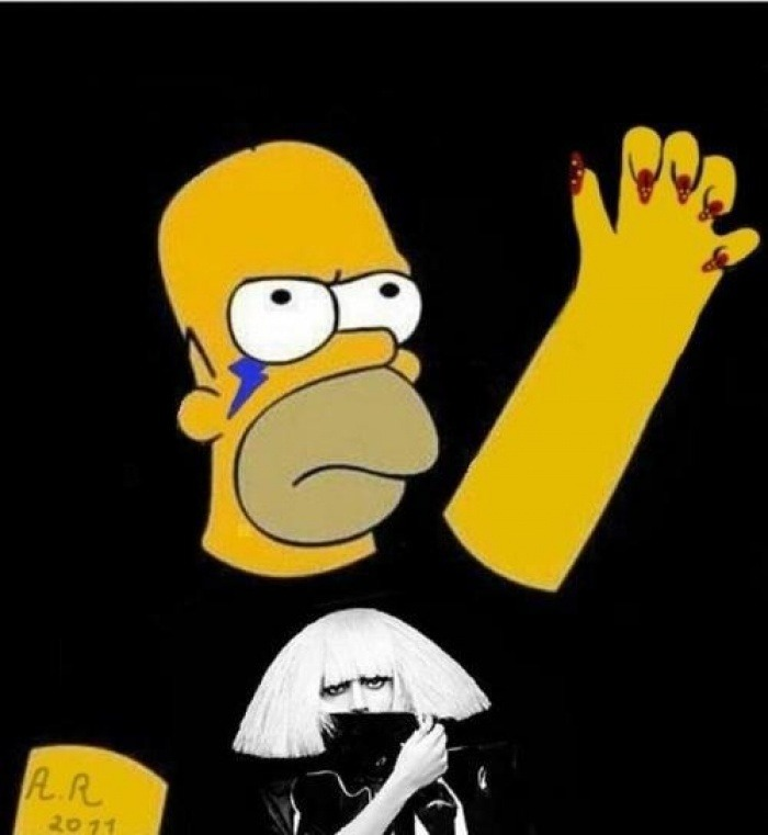 Homer is a little Monster! raw!