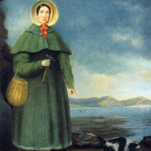 "Mary Anning (1799 – 1847)  In 1811, Mary Anning's brother spotted what he thought was a crocodile skeleton in a seaside cliff near the family's Lyme Regis, England, home. He charged his 11-year-old sister with its recovery, and she eventually dug out a skull and 60 vertebrae, selling them to a private collector for £23. This find was no croc, though, and was eventually named Ichthyosaurus, the ""fish-lizard."" Thus began Anning's long career as a fossil hunter. In addition to ichthyosaurs, she found long-necked plesiosaurs, a pterodactyl and hundreds, possibly thousands, of other fossils that helped scientists to draw a picture of the marine world 200 million to 140 million years ago during the Jurassic. She had little formal education and so taught herself anatomy, geology, paleontology and scientific illustration. Scientists of the time traveled from as far away as New York City to Lyme Regis to consult and hunt for fossils with Anning."