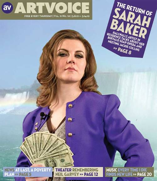 Cover Story: The Return of Sarah Baker by Ed Cardoni  Read more: http://artvoice.com/issues/v11n10/arts_feature#ixzz1oXuyRkMM