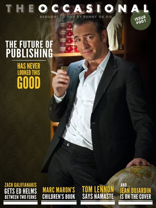 "Funny Or Die Launches 'The Occasional' iPad Magazine With more than 25 pieces of original content, Funny Or Die's ""The Occasional"" is a new multimedia magazine featuring exclusive videos, celebrity interviews, political commentary, movie reviews and comedic twists on conventional magazine themes. Contributors include FOD co-founder Adam McKay, Tom Lennon, Jon Daly and many more! Check out the first issue, featuring an exclusive episode of Between Two Ferns with Zach Galifianakis and Ed Helms!"
