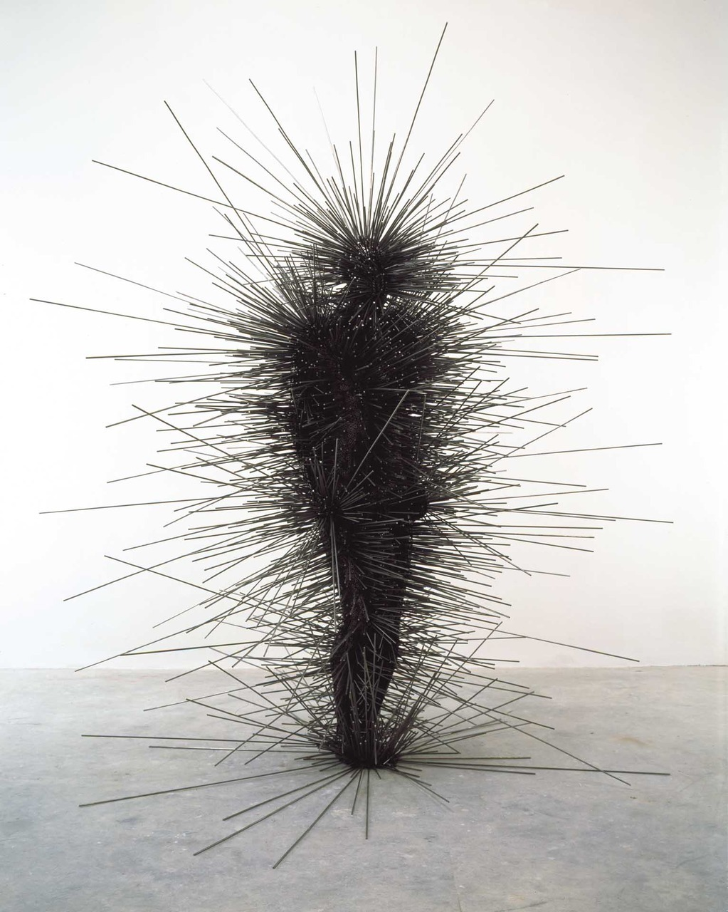 2headedsnake:  antonygormley.com Anthony Gormley, Capacitor, 2001
