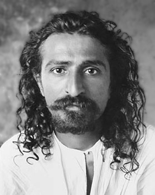 "badesaba:  Meher Baba - मेहेर बाबा - مہر بابا  1894 – January 31, 1969), born Merwan Sheriar Irani, was an Indian mystic and spiritual master who declared publicly in 1954 that he was the Avatar of the age. At the age of 19, a brief contact with the Muslim holy woman Hazrat Babajan began his seven-year process of spiritual transformation. Over the next months, he contacted ""the five Perfect Masters.""  From 1925 until his death in 1969, Meher Baba was silent."
