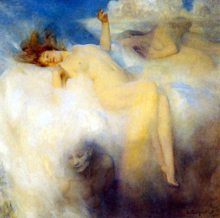 welovepaintings:  Arthur Hacker The Cloud 1902