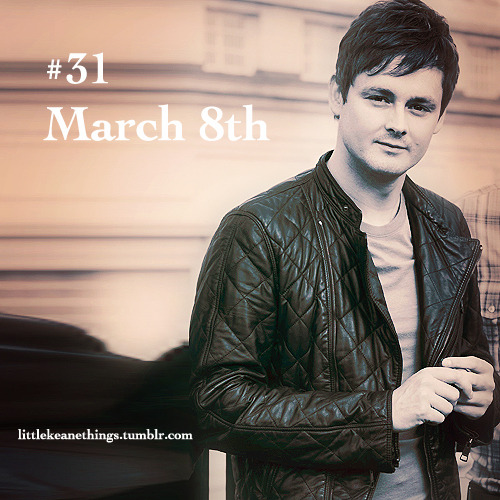 #31 March 8th   Happy birthday Thomas Oliver Chaplin!