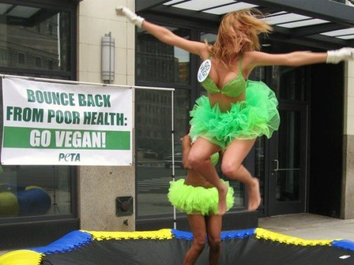 PHOTO OF THE DAY: Leaping Lettuce Ladies