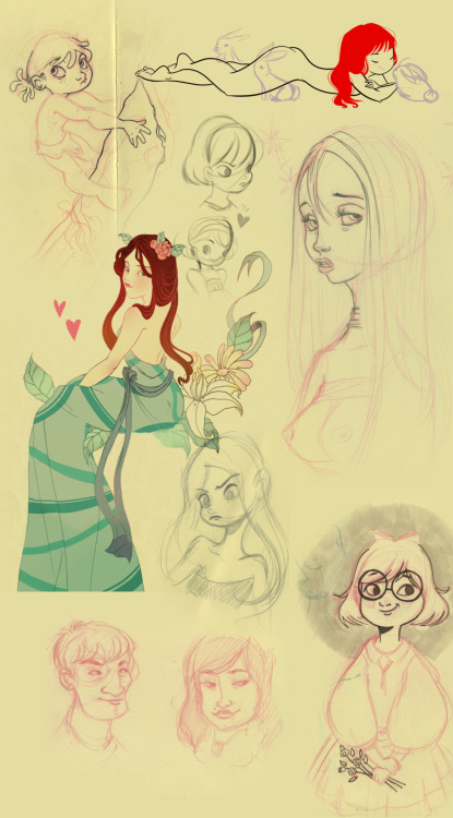 lyoshasvetlana:  Several dumped doodles