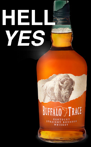 Thank you to our favorite whiskey, Buffalo Trace, for sponsoring our trip to SxSW! If you're putting us up for a night, or partying with us at a house show, a bottle of BT will be our thank you.  And if you've ever had the stuff, you know that it's an emphatic show of gratitude. And if you've never had Buffalo Trace, you should.  We're not shilling ourselves here.  We just feel bad for you.