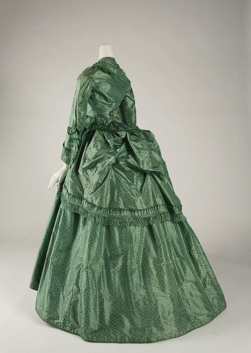 Dress 1870 The Metropolitan Museum of Art