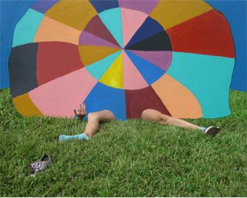 "JILLIAN MAYER We love these whimsical ""visual performances"" by Miami, FL based artist Jillian Mayer.  To create these comical images, Jillian uses a wide variety of mediums, including sculpture, performance, video and photography. Her work has been garnering a lot of attention lately, including a recent cover story in Art Papers."