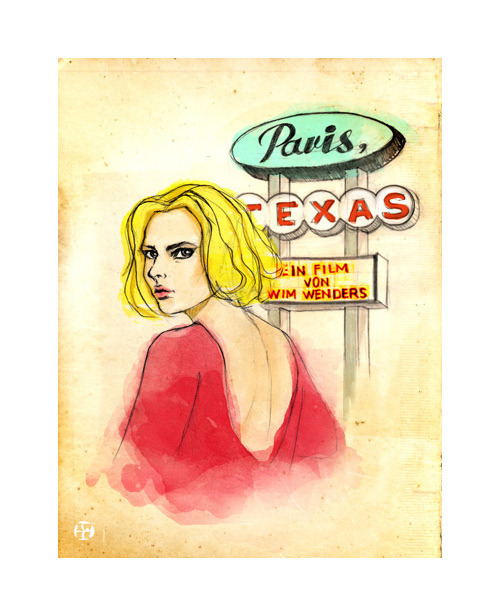 Paris-Texas (1984)Film directed by Wim Wenders and starring Nastassja Kinski