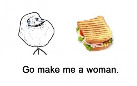 most-awkward-moments:  forever alone level sandwich