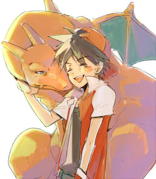 epicpokemonart:  Pokemon Special:: FireRed by *kissai