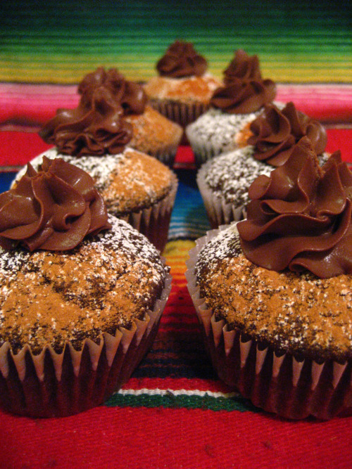 Vegan Mexican Hot Chocolate Cupcakes, by Sweet Elites Vegan Cupcakes!