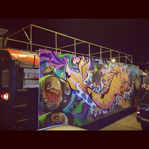 MobiArtBus at Oakland's Art Mur Mur! (Taken with instagram)