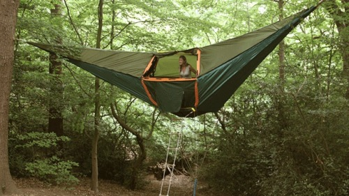 Hammock Tent Combining two great things doesn't always work well, but I think they hit the nail on the head with this one.