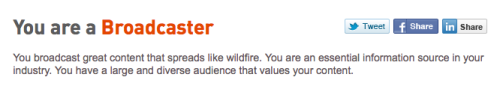 WTF.  Klout's so weird.