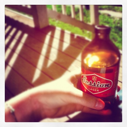 Session on my porch :) (Taken with Instagram at The new house on Center St.)