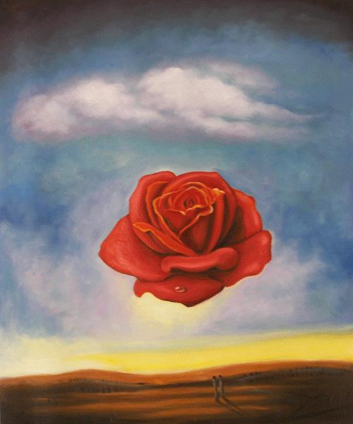 """The Rose"" by Salvador Dali. One of my favorites"