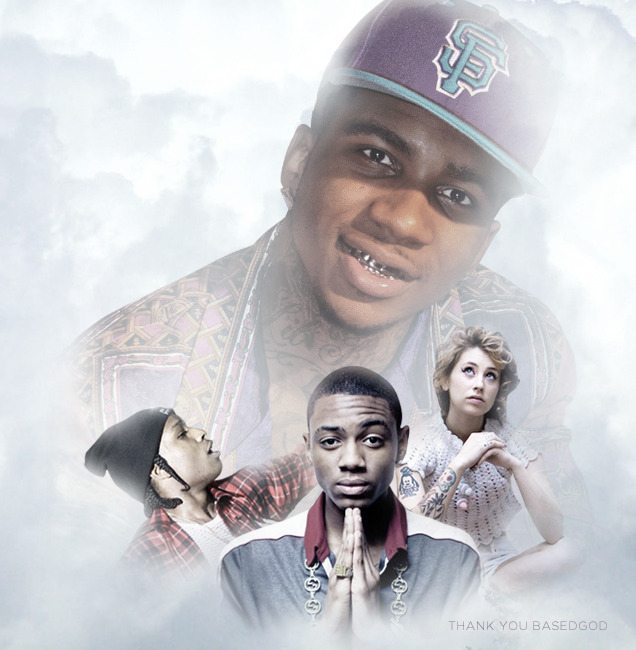 lilbasedbook:  The BasedGod walks, they follow.