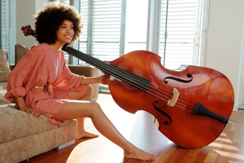 Grammy-winning musician Esperanza Spalding releases her new album Radio Music Society next week. (Photo by Johann Sauty.) Story…