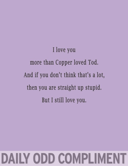 """Tod and Copper"""