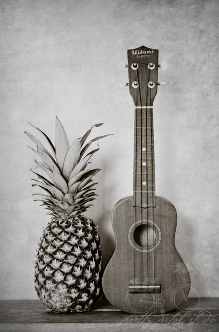 annewallace:  Ukulele and Pineapple