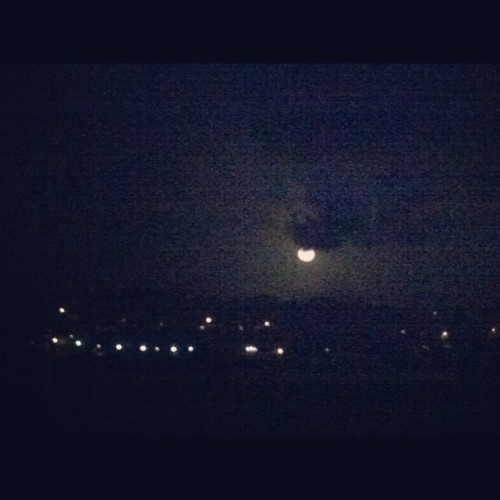 #moon #night #puertorico (Taken with instagram)