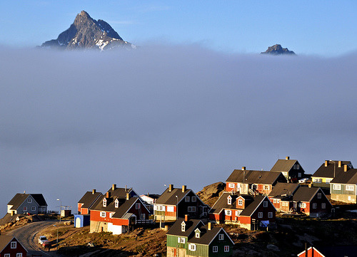 travelingcolors:  A foggy morning, Tasiilaq | Greenland (by Zinni | via weshallneverstop)