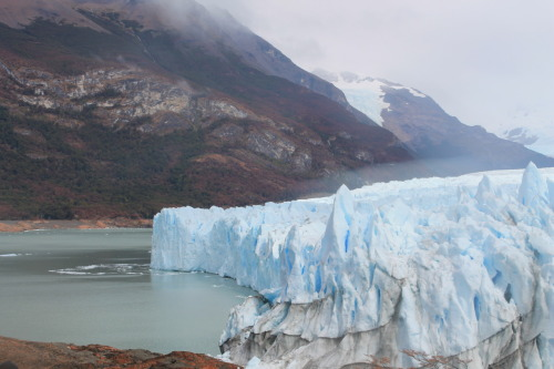 Perito Moreno Glacier located in the south of Argentina… most precisely, El Calafate, Province of Santa Cruz……….. it's up to the moment to most stunning place I've ever been to…. it took my breath away….