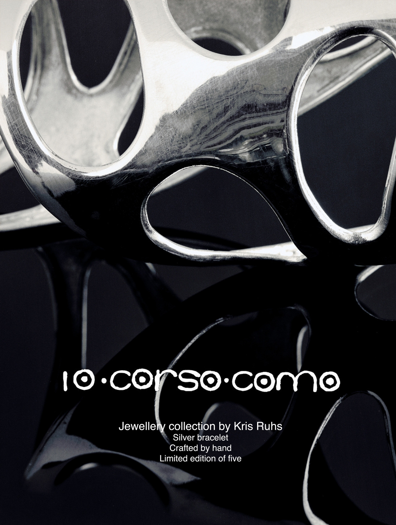 Kris Ruhs jewelry for 10 Corso Como, IED Roma classwork. (photo credit 10 Corso Como)