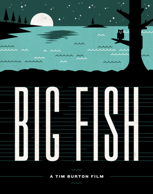 Big Fish poster by Tim Boelaars