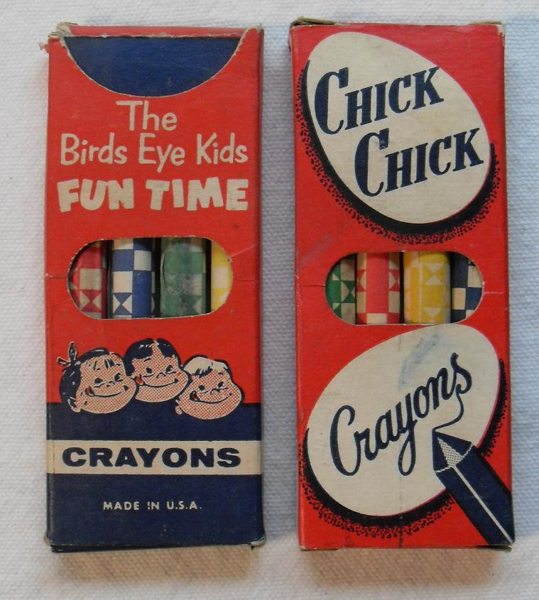 retrogasm:  Wow 4 motherfuckin crayons…  Go ahead and make fun of the crayons, but according to the three children on the package, those crayons are motherfuckin delicious.