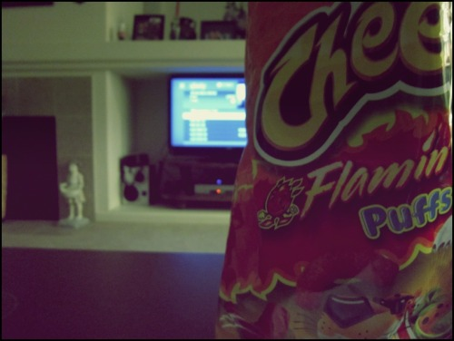 Hot cheetos x Ondemand. aha