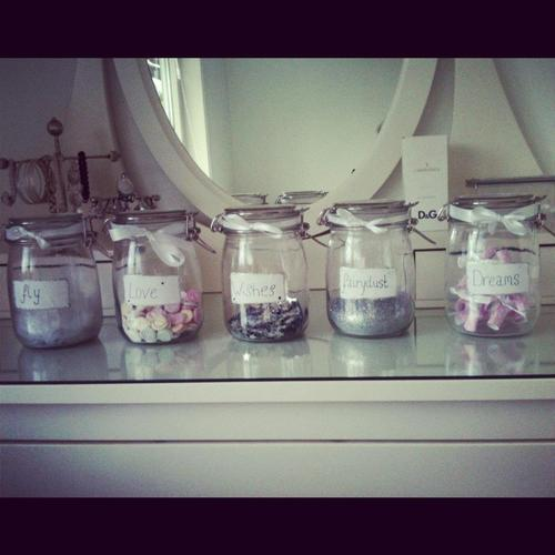 zenasty:  They put their dreams in a jar and leave them on the shelf.