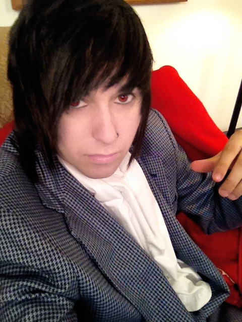 capndesdes:  I thought I looked like a vampire lord. xD
