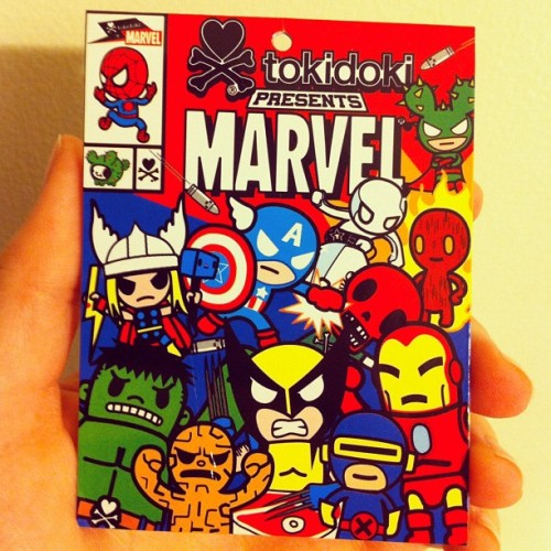 Cute Marvel Heroes!  (Taken with instagram)