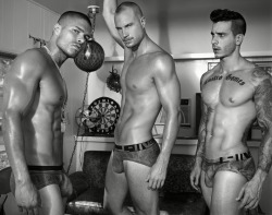 beautygoodness:  Anthony Gallo, Chris Whelan & Castro Gomes by Rick Day