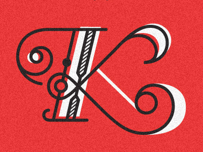 visualgraphic:  K Lettering