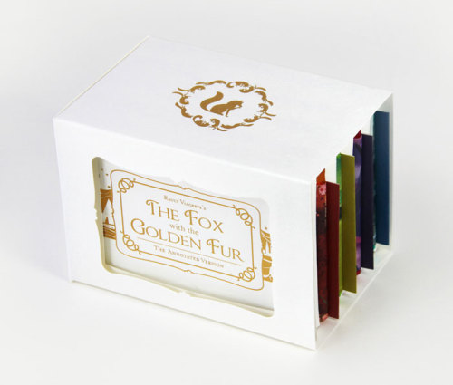 "Wonderful slipcase and colors.  led-zebra:    ""The Fox With the Golden Fur"" Storybook by UltraCreative"