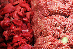 "What Is ""Pink Slime"" And Why Is It In 70% Of Supermarket Ground Beef? Earlier this year, McDonald's made headlines when it said it would stop using ammonia-treated beef trimmings lovingly known as ""pink slime"" in its burgers. Now the former USDA scientist who coined the phrase is speaking out against the widespread use of the stuff — not because it's unsafe, but because he feels like consumers are being deceived into paying for cheap filler. ""It's economic fraud,"" the scientist explains, adding that you'll find pink slime in 70% of ground beef you buy at the supermarket. ""It's not fresh ground beef. … It's a cheap substitute being added in."" (source)  It's a bit ironic that McDonald's has beaten the USDA to the punch. Also, the USDA plans to buy 7 million pounds of ""pink slime"" for use in the national school lunch program. (source) What you can do:Petition: Tell USDA to STOP Using Pink Slime in School Food!"