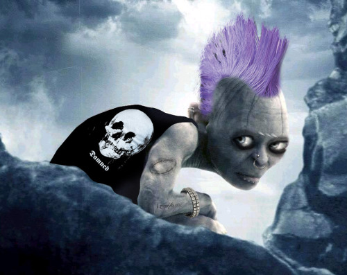 Punk Rock Gollum