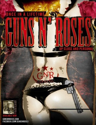 I am listening to Guns N' Roses                                                  478 others are also listening to                       Guns N' Roses on GetGlue.com