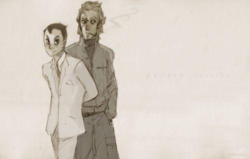 starlock:  Moriarty & Moran, Criminal Consultation. - I try to pay attention in effects & compositing, really I do.