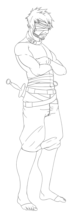 I still have to line Jallus. But here is Tiberium's lineart~